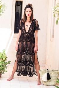 robe-juliette-col-v-noire-longue