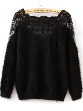 http://fr.shein.com/Lace-Paneled-Mohair-Black-Sweater-p-235388-cat-1734.html
