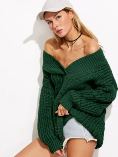 http://fr.shein.com/Dark-Green-V-Neck-Drop-Shoulder-Chunky-Knit-Sweater-p-329201-cat-1734.html