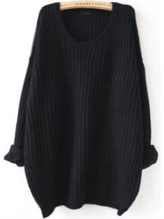 http://fr.shein.com/Black-Drop-Shoulder-Textured-Sweater-p-329698-cat-1734.html
