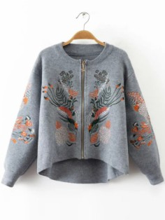 http://fr.shein.com/Grey-Embroidery-Zipper-Up-High-Low-Sweater-Coat-p-332306-cat-1734.html
