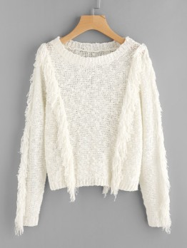 http://fr.shein.com/Fringe-Trim-Loose-Knit-Dot-Yarn-Jumper-p-369180-cat-1734.html