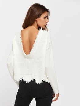 http://fr.shein.com/Low-Back-Scallop-Raw-Edge-Jumper-p-370612-cat-1734.html