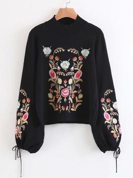 http://fr.shein.com/Embroidery-Drawstring-Lantern-Sleeve-Sweater-p-380851-cat-1734.html