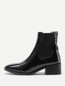 http://fr.shein.com/Almond-Toe-Patent-Leather-Ankle-Boots-p-383642-cat-1748.html