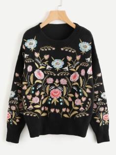 http://fr.shein.com/Symmetric-Botanical-Embroidered-Jumper-p-385803-cat-1734.html