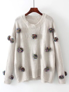 http://fr.shein.com/Pom-Pom-Design-Drop-Shoulder-Knitwear-p-387457-cat-1734.html