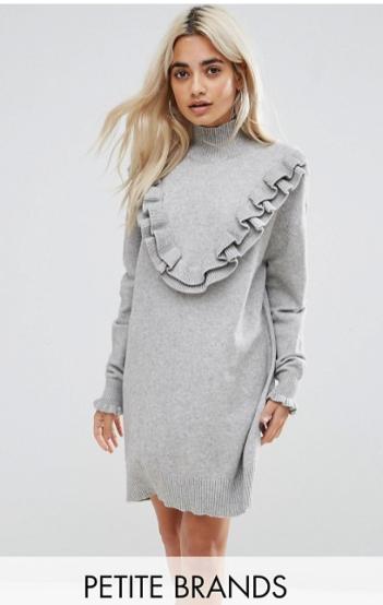 http://www.asos.fr/vero-moda-petite/vero-moda-petite-robe-volantee-en-maille/prd/8645111?clr=grischin%c3%a9&cid=2637