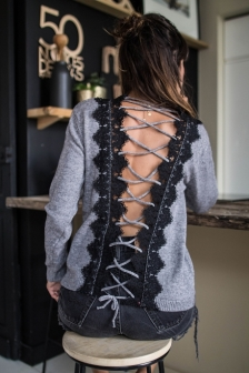 https://prettywire.fr/pulls-gilets-doudou/2995010-pull-alice-lace-up-dentelle-dos-gris.html