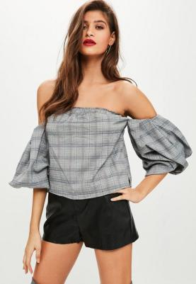 https://www.missguidedfr.fr/top-gris-a-carreaux-col-bateau-tall-10055075